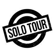 Solo Tour rubber stamp Royalty Free Stock Photos