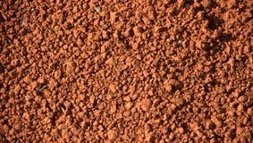 Solo vermelho Imagem de Stock Royalty Free