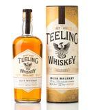 Solo whisky del irlandés del grano de Teeling Imagen de archivo