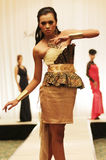 Solo Young Fashion designer Royalty Free Stock Photos