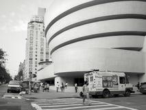Solomom r Музей Guggenheim в Нью-Йорке Стоковая Фотография