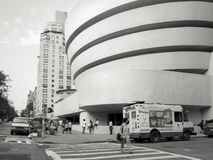 The Solomom R. Guggenheim Museum in New York City Stock Photography