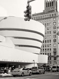 Solomom R Guggenheimmuseum in de Stad van New York royalty-vrije stock foto
