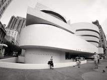 Solomomen R Guggenheim museum i New York City Arkivfoto