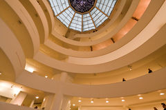 Solomon Guggenheim Museum New York City stockfoto