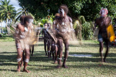 Solomon Island Dancers Stock Images