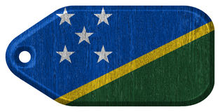 Solomon Islands flag Royalty Free Stock Image