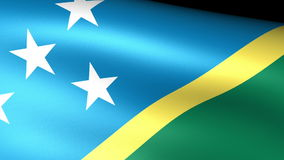 Solomon Islands Flag Waving libre illustration