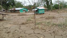 Solomon Islands. After the 2014 floods Stock Photo