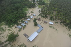 Solomon Islands. After the 2014 floods Stock Photography