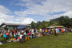 Solomon Islands Local Market Stock Images