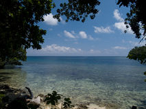 Solomon Islands shoreline Royalty Free Stock Photography