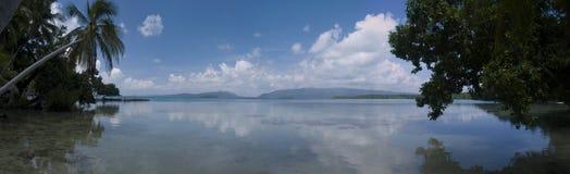 Solomon Islands view Royalty Free Stock Image