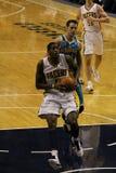 Solomon Jones Indiana Pacers que intenta una clavada Imagen de archivo