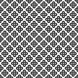 Solomon knot seamless pattern Royalty Free Stock Photo