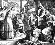 Solomon Named som lyckas David Arkivfoton