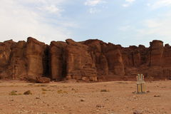 Solomon Pilers. South of Israel, Timna national park royalty free stock photography