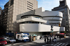 The Solomon R. Guggenheim Museum Stock Image
