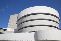 The Solomon R. Guggenheim Museum of modern and contemporary art in Manhattan Stock Photography