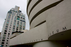 The Solomon R.  Guggenheim Museum in New York. Stock Photography
