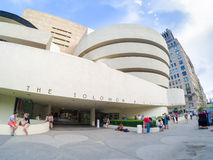 The Solomon R. Guggenheim museum in New York Stock Photos