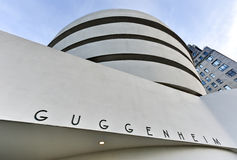 Solomon R. Guggenheim Museum Royalty Free Stock Photos