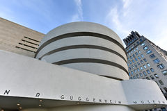 Solomon R. Guggenheim Museum Royalty Free Stock Photos