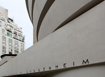 The Solomon R. Guggenheim Museum, New York City. Royalty Free Stock Photos