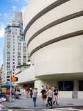 The Solomon R. Guggenheim museum in New York Stock Photography