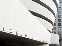 The Solomon R. Guggenheim museum in New York Royalty Free Stock Photo