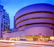 Solomon R Museo di Guggenheim Immagini Stock Libere da Diritti