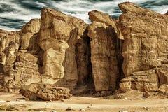 Solomons柱子在以色列HDR 图库摄影