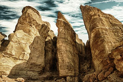 Solomons filary, Izrael HDR Obrazy Royalty Free