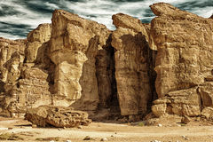 Solomons filary w Izrael HDR Fotografia Stock