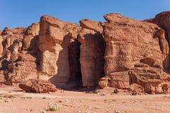 Solomons Pillars Sandstones in Timna Park, Israel Stock Photography