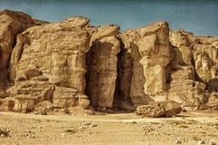 Solomons Pillars, Timna Park Royalty Free Stock Image