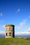 Solomons Temple. Solomon's Temple, also known as Grinlow Tower, is a Victorian Folly close to the spa town of Buxton in the Derbyshire Peak District Royalty Free Stock Photography