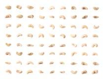 Solos anacardos aislados Fotos de archivo