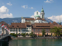 View in Solothurn, Switzerland royalty free stock images