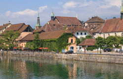 Solothurn cityscape Royalty Free Stock Images