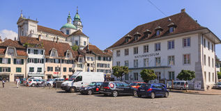 Solothurn cityscape Stock Photos