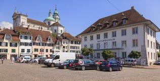 Solothurn cityscape Stock Photos