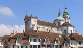 Solothurn cityscape Royalty Free Stock Image