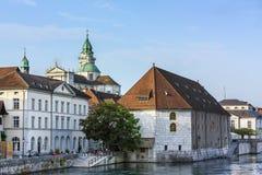 Solothurn, die Schweiz Stockfotos
