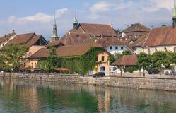 Solothurn-Stadtbild Lizenzfreie Stockbilder