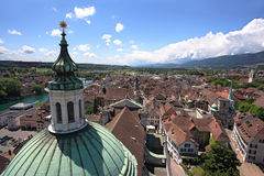 Solothurn Zwitserland Royalty-vrije Stock Foto's