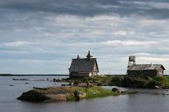 Solovetskii islands royalty free stock photo