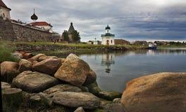 solovetsky亲切的修道院 库存照片