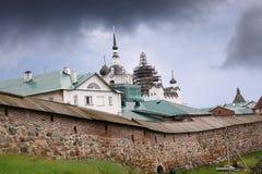 Solovetsky修道院,俄国 库存照片