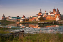 Solovetsky修道院, Solovki 库存图片
